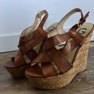 Size 8 Wedges By Guess